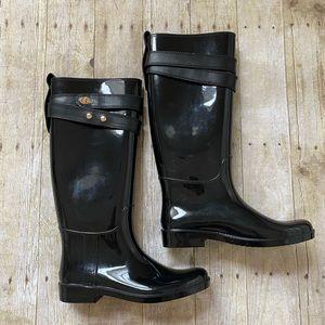 Coach Talia Rubber Rain Boots